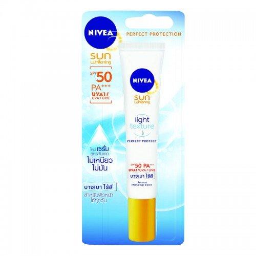 Nivea Face Sunscreen Serum Sun Whitening Perfect Protect Super Serum SPF50 (John Masters Organics Shine On compare prices)