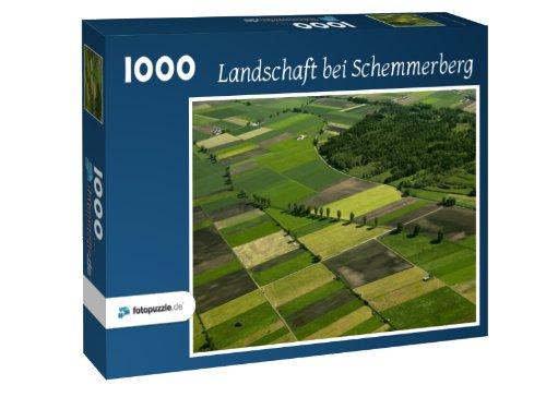Puzzle 1000 Teile - Landschaft bei Schemmerberg