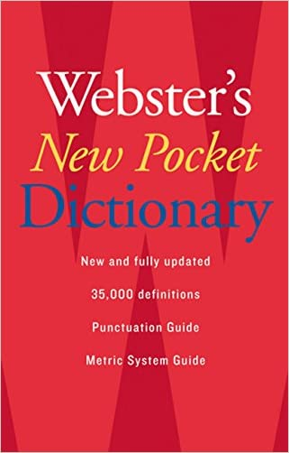 Webster's New Pocket Dictionary written by Editors of Webster%27s New World Dictionaries