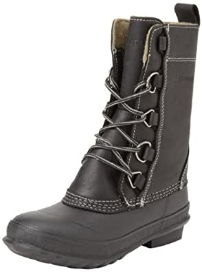 Tretorn Women's Aspelina Snow Boot,Black,35 EU/4 B US