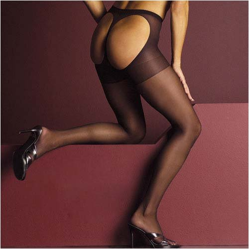 Women's Cheek Out Thong Back Pantyhose