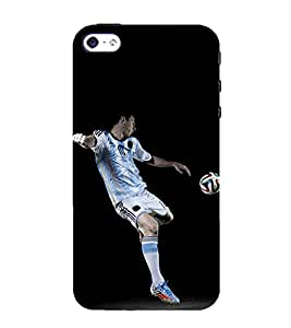 99Sublimation Foot ball 3D Hard Polycarbonate Back Case Cover for Apple iPhone 5