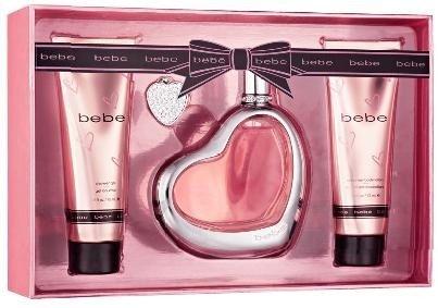 BEBE Women Gift Set Eau de Perfume 3 4oz Spray 33oz Eau de Perfume BEBE SHEER 2 5oz S GEL 2 5 B Loz