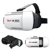 Tera® VRBOX バーチャルリアリティ 仮想現実 3D グラス メガネ スタイル ヘッドセット VRボックス ゲーム 映画 ビデオ スマートフォン向け iPhone