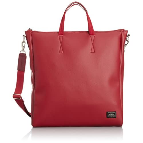[ビージルシヨシダ] B印 YOSHIDA PORTER NEUT 2WAY TOTE BAG 34610657049 35 (RED/ONE SIZE)