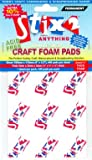 CRAFT FOAM PADS 5 X 5 X3MM - 400 PER PACK