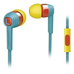 Philips SHE7055BR CitiScape Indies Headphones with mic
