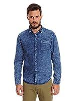 New Caro Camisa Hombre Jacobs (Azul Denim)