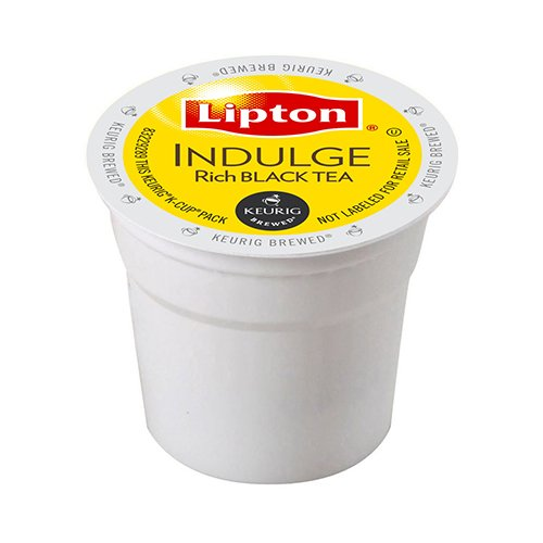 Lipton Black Tea K-Cup Portion Pack For Keurig Brewers, Indulge Rich, 96 Count