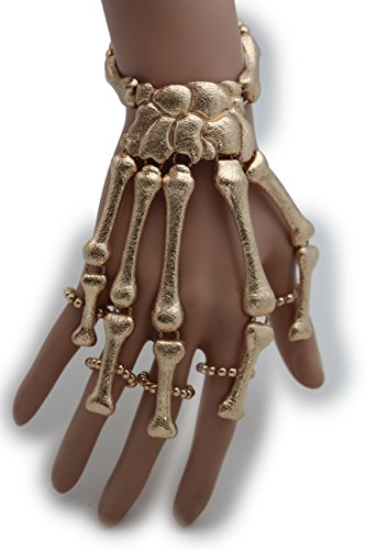 Women's Skeleton Hand Chain Wrist Bracelet