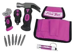 The Original Pink Box PB12SET 11-Piece Stubby Tool Set