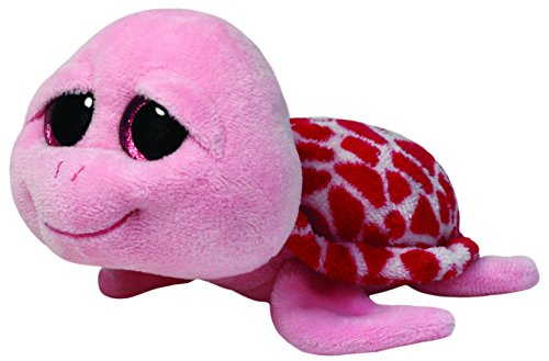 Ty Beanie Boos Shellby Pink Turtle Plush