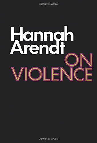On Violence (Harvest Book)