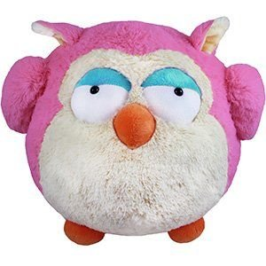 "Squishable Pink Owl 15"" Plush Toy"