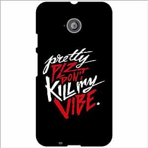 Moto E (2nd Gen) 4G Back Cover - Kill Designer Cases