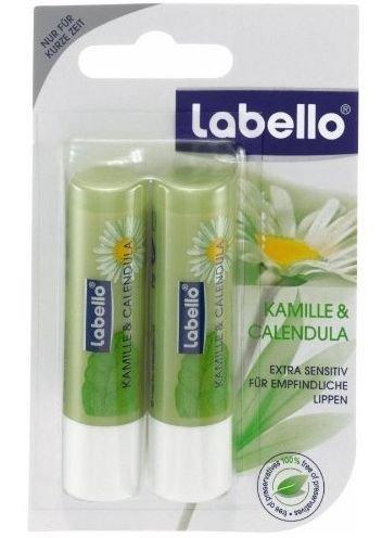 Labello Natural - Chamomile & Calendula Lip Balm