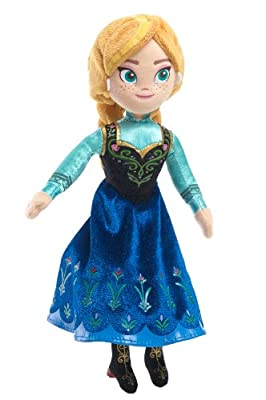 Disney Frozen 8-inch Talking Beanie Anna Plush