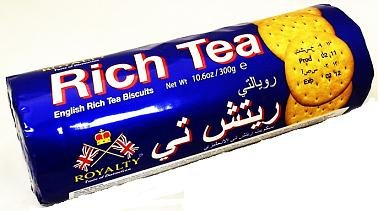 Royalty Rich Tea Biscuit 300G. 5 Pack. If You Like Mcvities Rich Tea You Will Love These.