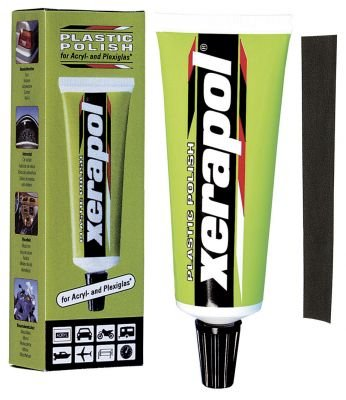 XERAPOL PLASTIC SCRATCH REMOVAL POLISH IDEAL FOR CAR EXTERIORS/INTERIOR TRIM/HEADLAMPS ETC