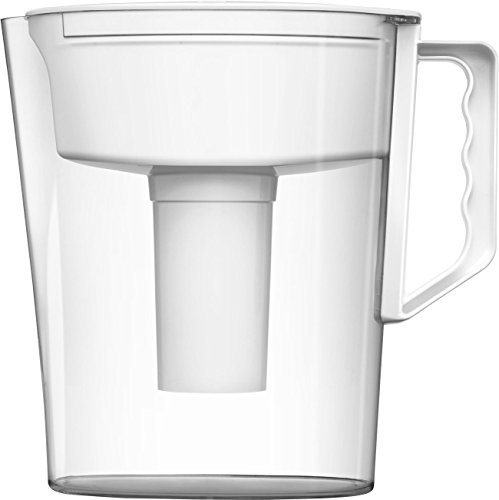 Brita Slim Water Pitcher with 1 Filter, White, 5 Cup (Brita Jug Filter compare prices)