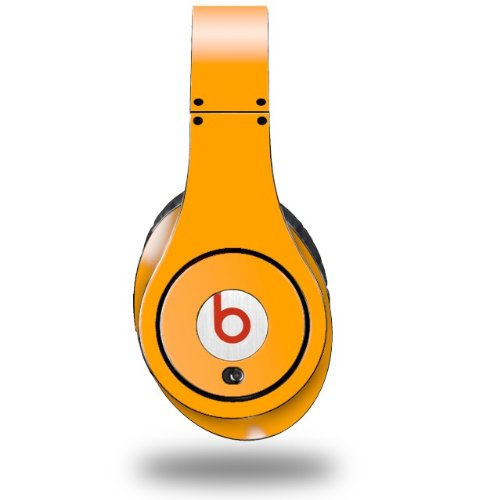 Solids Collection Orange Decal Style Skin (Fits Original Beats Studio Headphones - Headphones Not Included)