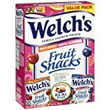 Welchs Fruit Snacks 22 Pouches - Fruit Punch & Berries n Cherries