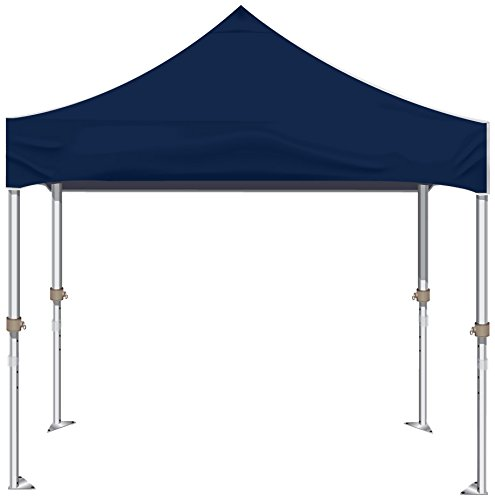 Kd Kanopy Xtf100Nb Xtf Aluminum Frame Indoor/Outdoor Portable Canopy, 10 By 10-Feet, Navy Blue