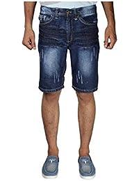 Krystle Men|Boy Denim Shorts In Blue Colour