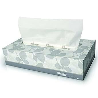 Kleenex Facial Tissue (21606), Flat Tissue Boxes, 48 Boxes / Case, 125 Tissues / Box