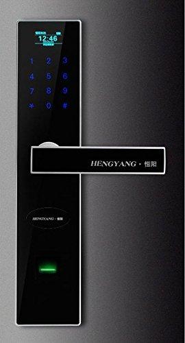 Security Entry Door Lock Fingerprint Digital Security Intelligent Door Lock (Wifi Door Handle compare prices)
