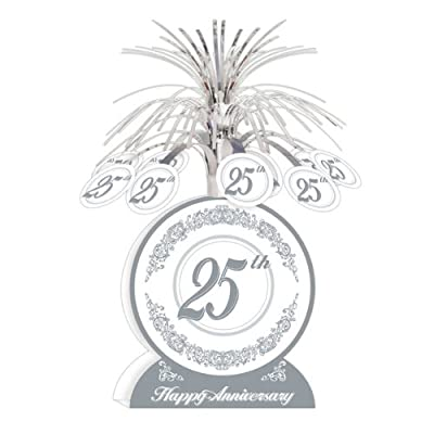 25th Anniversary Centerpiece Party Accessory