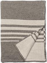 Nine Space Turkish Cotton Bali Throw Blanket 50 by 70-Inch Slate