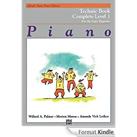 Alfred's Basic Piano Library Piano Course, Technic Book Complete Level 1