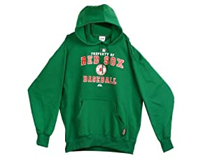 MLB Officially Licensed Boston Red Sox Green Pullover Hoodie by MLB