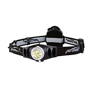 LED Lenser 7497 Focusing LED Headlamp with VLT H7