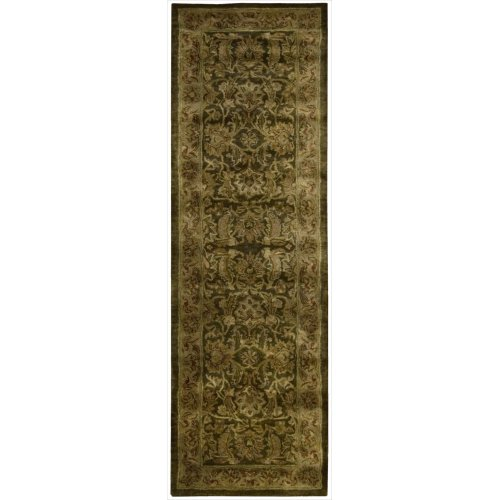 Sale Nourison Ja30 Jaipur Rectangle Hand Tufted Area Rug 2 4 By 8 Feet Brown Find Sale Free App Of The Day222