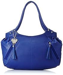 Butterflies Handbag Blue and White (BNS CB001) Set of 2