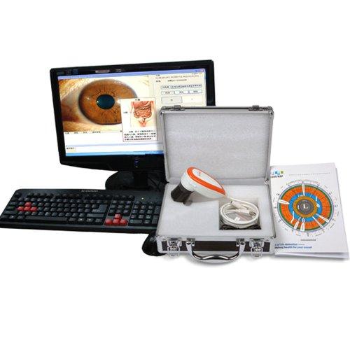 2014 CE FCC NEW 5.0 MP USB Iriscope Iris Analyzer Iridology Camera with Pro Iris Software(GH11003)