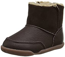 Carter\'s Every Step Stage 2 Bucket Early Walker Boot (Infant/Toddler), Brown, 3 M US Infant