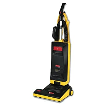 Rubbermaid Commercial FG9VPH150000 15-inch Power Height Upright Vacuum Cleaner, 11 A Power