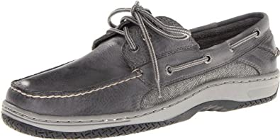 Sperry Top-Sider Men's Billfish 3 Eye Boat Shoe,Grey,7 M US