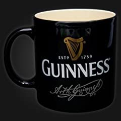 Guinness Black Harp Mug