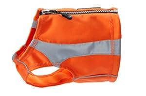 Hurtta Pet Collection Medium Polar Vest, Orange