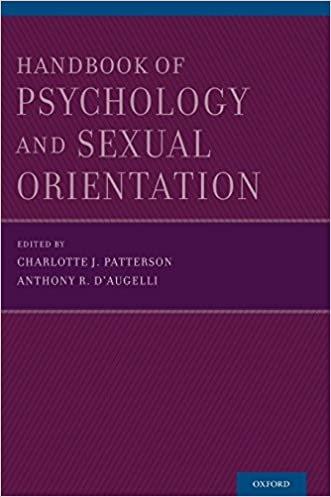 Handbook of Psychology and Sexual Orientation