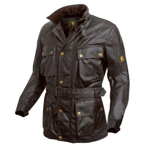 Belstaff Trialmaster wax jacket brown - M