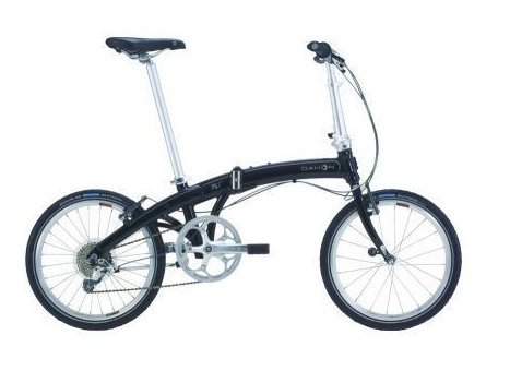 Dahon Mu P8 Folding Bike - Obsidian