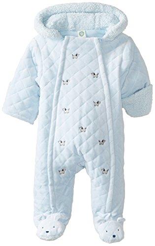 Little Me Baby-Boys Newborn Puppy Pram, Light Blue, 6-9 Months front-904224
