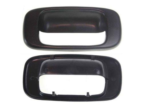 Fits 99 07 silverado sierra tail gate handle bezel cover for 03 silverado door handle replacement