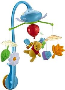 Winnie the Pooh T72127 - Móvil musical de cuna dulces sueños por TOMY