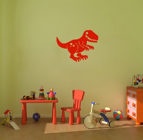 Dinosaur Toy Kid With Nestling Decal Sticker Art Design Room Nice Picture Decor Hall Wall Chu229 back-1024163